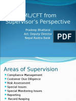 AML From Supervisor's Perspective