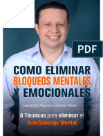 Leonardo Mauricio Gomez Perez - Como Eliminar Bloqueos Mentales