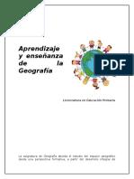 Aprendizaje y Enseñanza de La Geografía