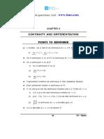 12 Mathematics Impq CH5 Continuity and Differentiation 01