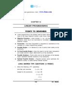 12 Mathematics Impq CH12 Linear Programming 01