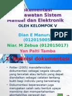 Presentasi Dokumentasi Keperawatan Sistem Manual Dan Elektronik
