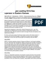 Viking Engages Leading Oil & Gas Operator in Eastern Kansas