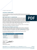 RES0352 Letter of Compliance Update FA-WEB-SAFE