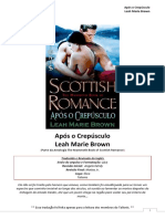 The Mammoth Book of Scottish Romance - Leah Marie Brown - Após o Crepúsculo (Talionis)