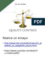 Importancia Del Control de Calidad Parte 2