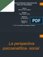Perspectiva Psicoanalitica- Social (1)