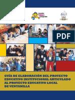 Proyecto Educativo Articulado Ventanilla