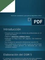 DSM 5 Evolución conceptual y diagnóstico clínico.