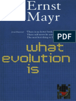 What Evolution is, e.mayrs