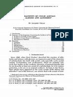 Reactividad de aldosas y aldosidos
