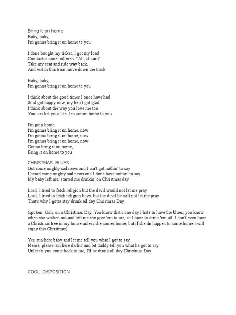 SBW Lyrics | Chest Of Drawers | Leisure