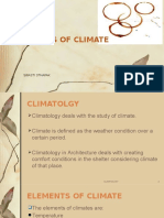 Elements of Climate