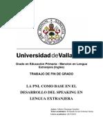 La PNL como base del desarrollo del Speaking en lengua extranjera.