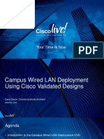Campus Wired LAN Deployment Using CVD