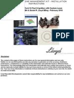 Rover V8 DIS Kit Instructions 1.3