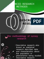 Descriptive Research Main