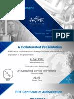 ASME Comformity Assessment Presentation