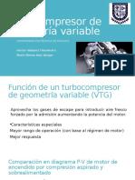 Turbocompresor de Geometría Variable (1)