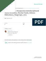 Epistemologie.perspectiva Interdisciplinara