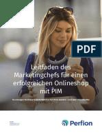 Leitfaden des Marketingchefs für einen erfolgreichen Onlineshop mit PIM