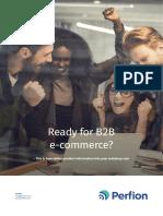 Ready for B2B e-commerce?