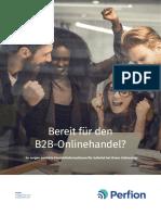 Bereit für den B2B-Onlinehandel?