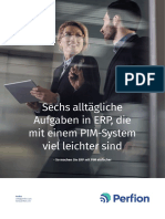 Sechs alltägliche Aufgaben in ERP, die mit einem PIM-System viel leichter sind