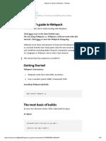 Beginner's Guide to Webpack – Medium
