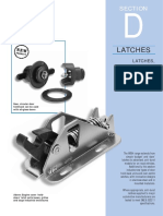 SectionD Latches Catches