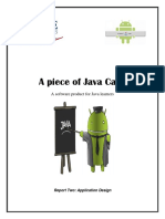A Piece of Java Cake, 2nd Report