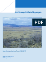USGS-s Waves Refraction Survey of Alluvial Aggregate