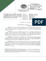 Project of Precincts (COMELEC Resolution No. 10019)