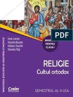 Religie, Clasa I, Partea II