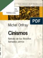 Onfray, Michel - Cinismos[1]. Retrato de Los Filosofos Llamados Perros