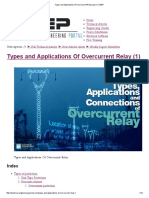 Types and Applications of Overcurrent Relay (Part 1) _ EEP