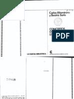 Altamirano Carlos - Conceptos de Sociologia Literaria