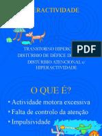 Formação Hiperactividade