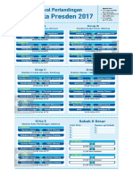 Jadwal Piala Presiden 2017