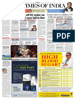 20170130 - Time of India | Swine Influenza | Influenza