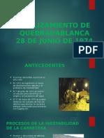 Deslizamiento de Quebradablanca
