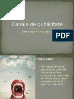 Canale de Publicitate