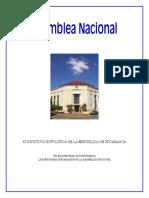 Constitución Nicaragua - Actual