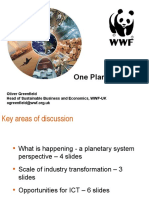 One Planet & ICT - WWF at Ovum