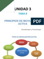 Tema 8. Principios Movilizacion Activa
