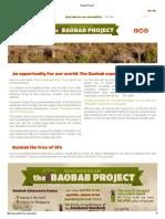Baobab Project
