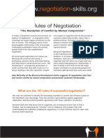 10 Rules of Negotiation .pdf