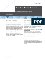 Forrester Wave in-Memory Data Grids