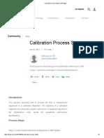 Calibration Process Steps _ SAP Blogs