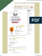 Bebidas Sin Alcohol - Cócteles y Copas